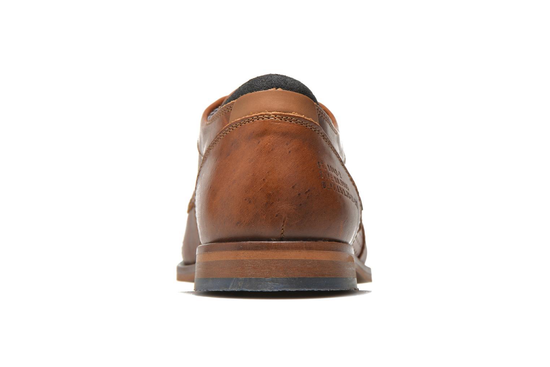 Chaussures à lacets Bullboxer Alvin Marron vue droite