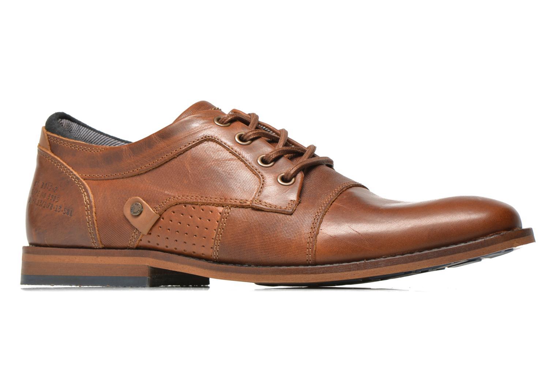 Chaussures à lacets Bullboxer Alvin Marron vue derrière