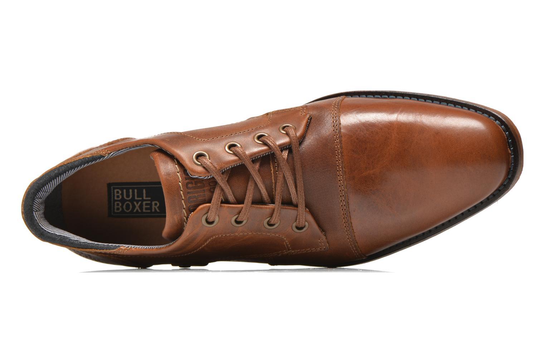 Chaussures à lacets Bullboxer Alvin Marron vue gauche
