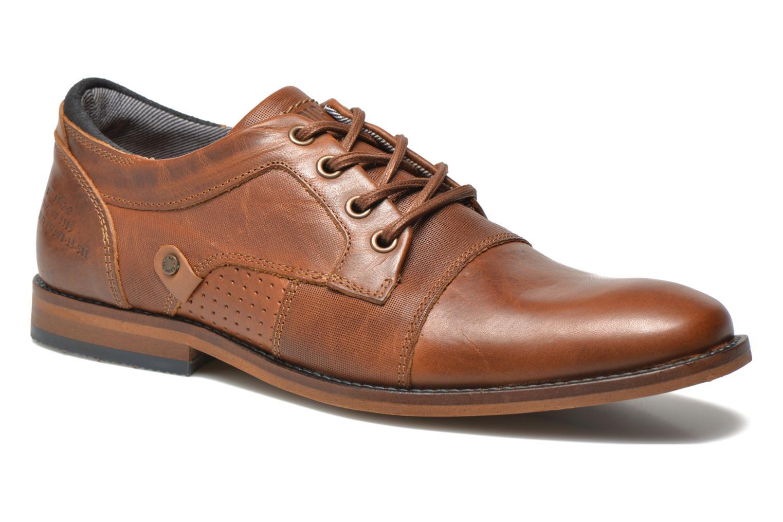 Chaussures à lacets Bullboxer Alvin Marron vue détail/paire