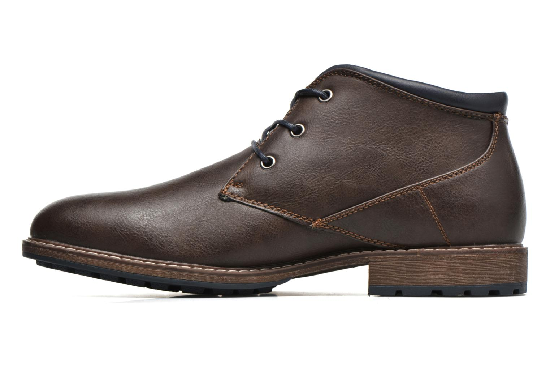 Veterschoenen I Love Shoes SUTILLON Bruin voorkant