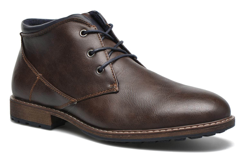Veterschoenen I Love Shoes SUTILLON Bruin detail