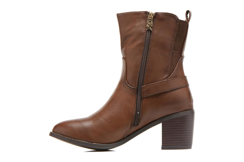 Bottines et boots Xti Alasia-28515 Marron vue face