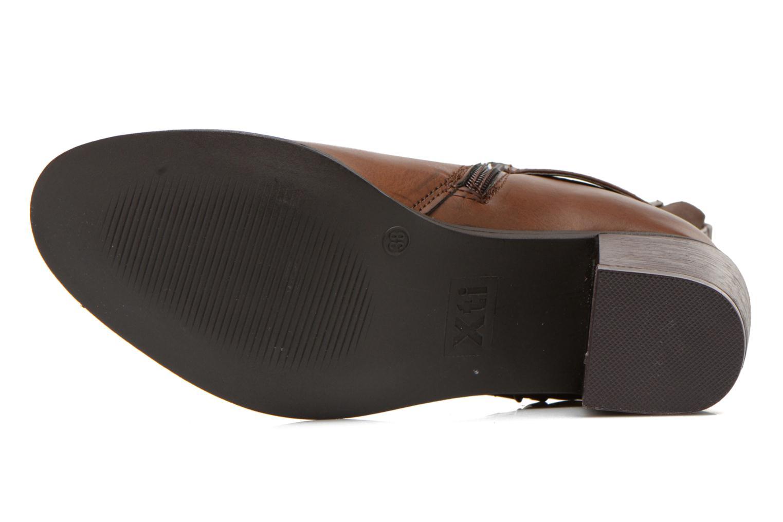 Stiefeletten & Boots Xti Alasia-28515 braun ansicht von oben