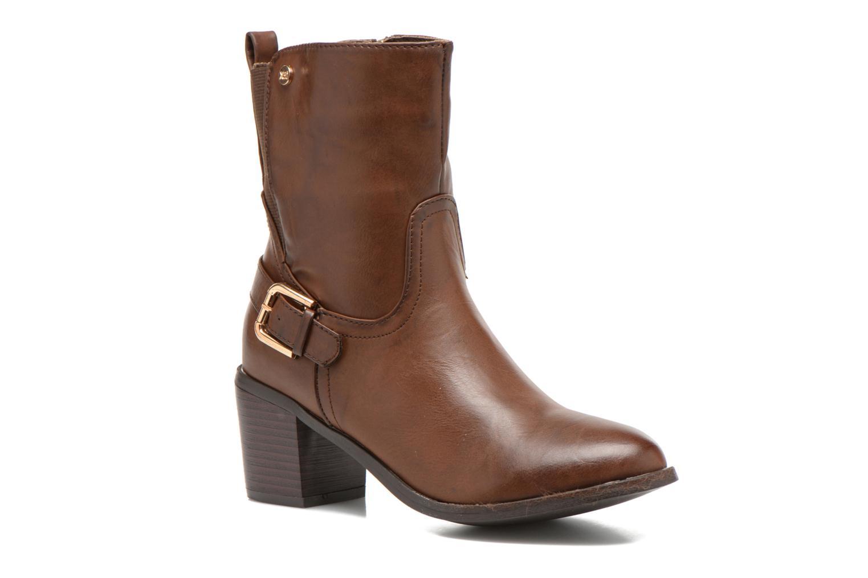 Bottines et boots Xti Alasia-28515 Marron vue détail/paire