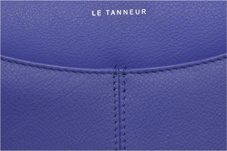 Marroquinería pequeña Le Tanneur VALENTINE Porte-monnaie long zippé Azul vista lateral izquierda