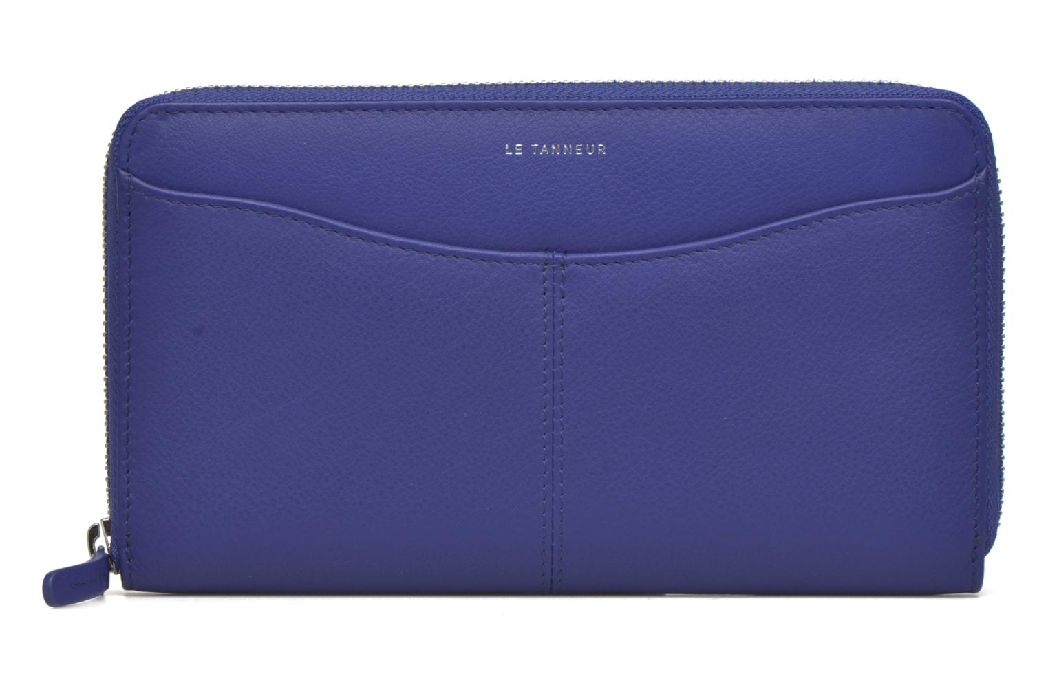 Wallets & cases Le Tanneur VALENTINE Porte-monnaie long zippé Blue detailed view/ Pair view