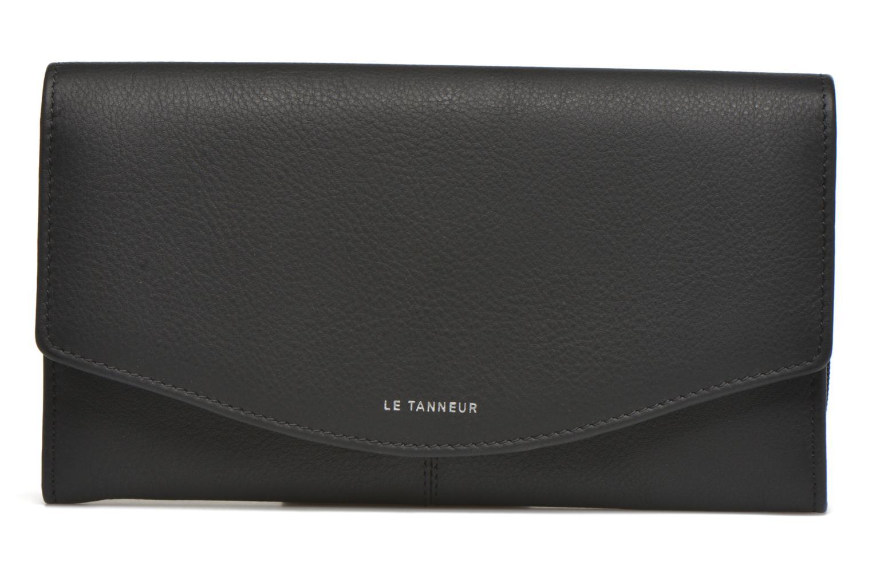 Petite Maroquinerie Le Tanneur VALENTINE Porte-monnaie long Noir vue détail/paire