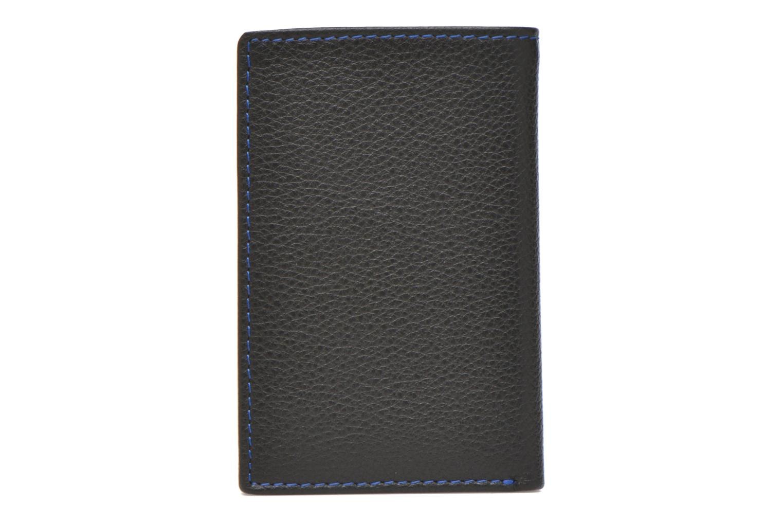 Wallets & cases Le Tanneur MARIUS Porte-cartes poche billets Black front view