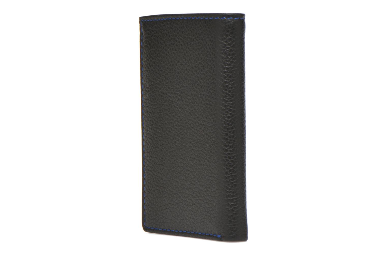 Wallets & cases Le Tanneur MARIUS Porte-cartes poche billets Black view from the right