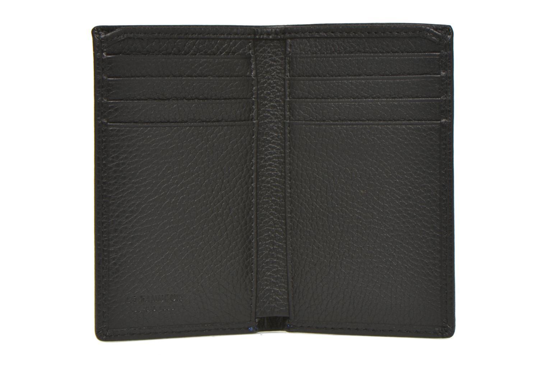 Wallets & cases Le Tanneur MARIUS Porte-cartes poche billets Black back view