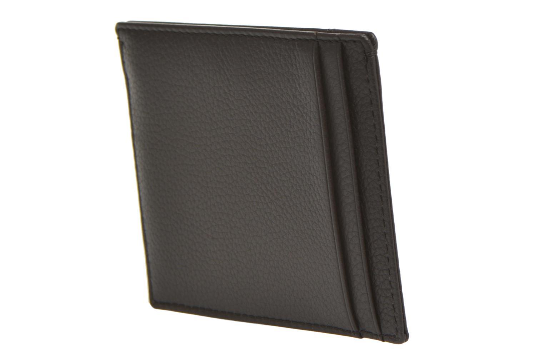 MARIUS Porte-papiers 3 poches marron