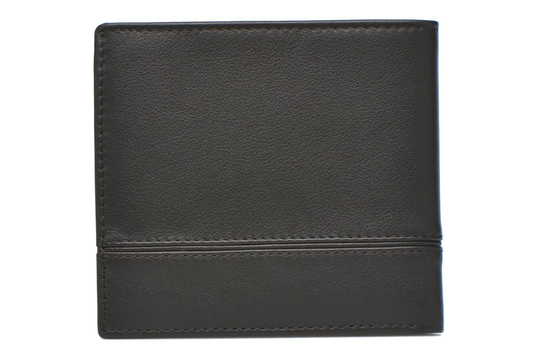 Petite Maroquinerie Le Tanneur JULES Porte-billets 2 poches Noir vue face