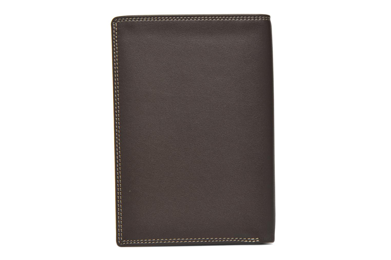 Portemonnaies & Clutches Le Tanneur TOURAINE Portefeuille poche zip 2 volets braun ansicht von vorne