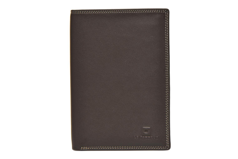 Portemonnaies & Clutches Le Tanneur TOURAINE Portefeuille poche zip 2 volets braun ansicht von links