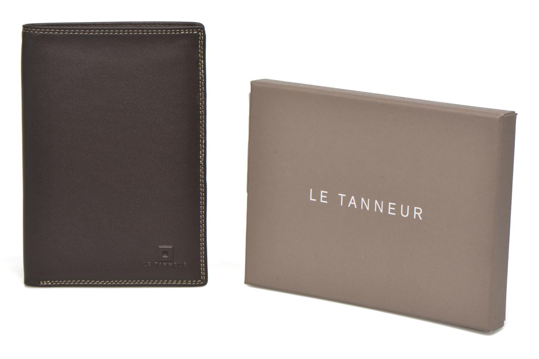 Portemonnaies & Clutches Le Tanneur TOURAINE Portefeuille poche zip 2 volets braun detaillierte ansicht/modell