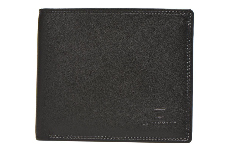 TOURAINE Porte-billets poche monnaie rabat Noir