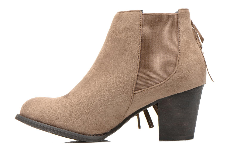 Bottines et boots Refresh Carmelina-61231 Marron vue face