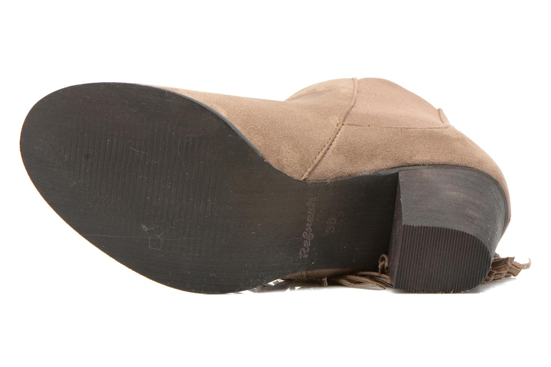 Bottines et boots Refresh Carmelina-61231 Marron vue haut