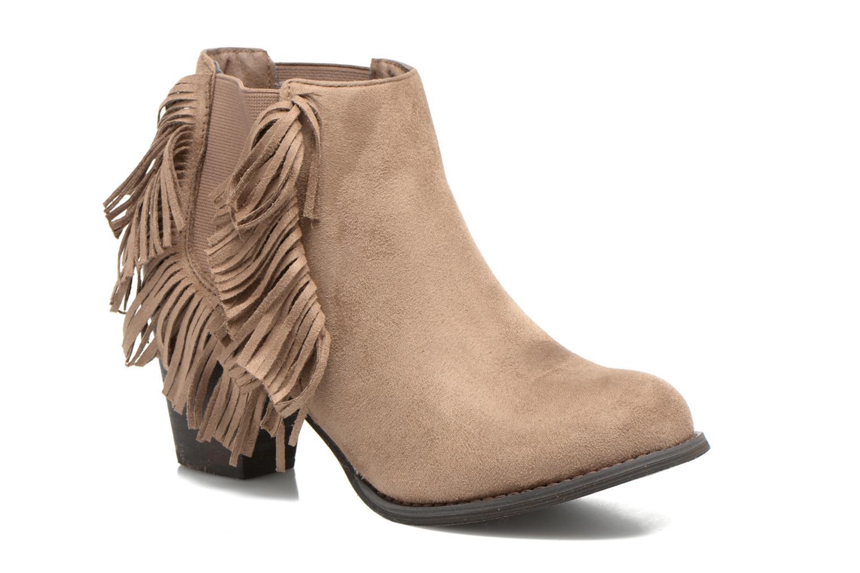 Bottines et boots Refresh Carmelina-61231 Marron vue détail/paire