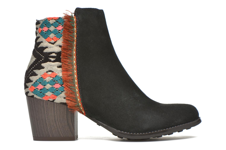 Bottines et boots Desigual Indian country Noir vue derrière