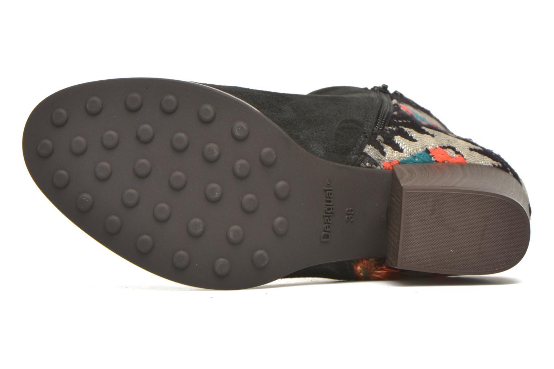 Stiefeletten & Boots Desigual Indian country schwarz ansicht von oben