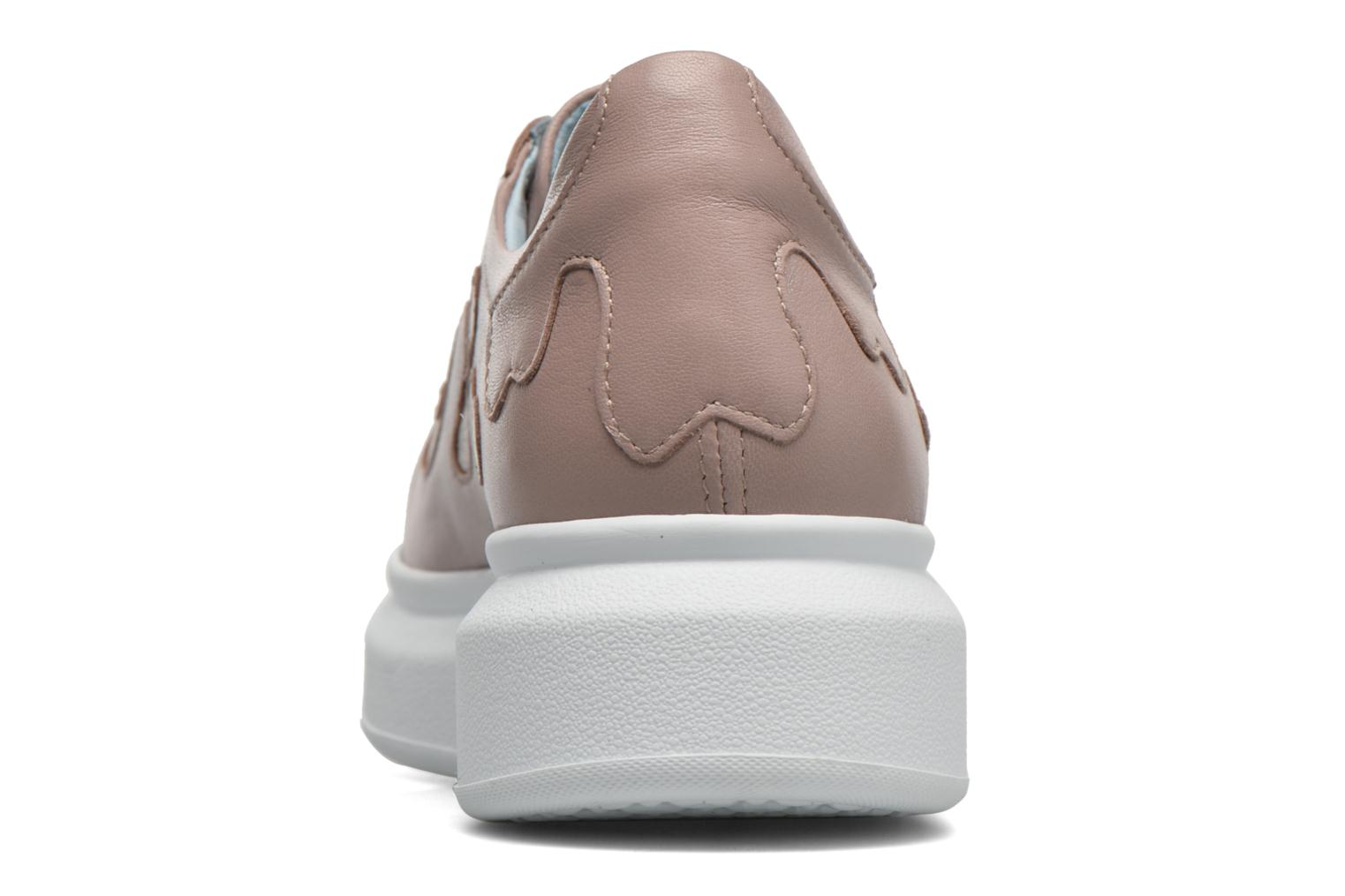 Trainers Apologie Flac Pink view from the right