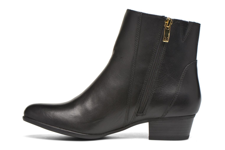 Bottines et boots Caprice Dagny Zip Noir vue face