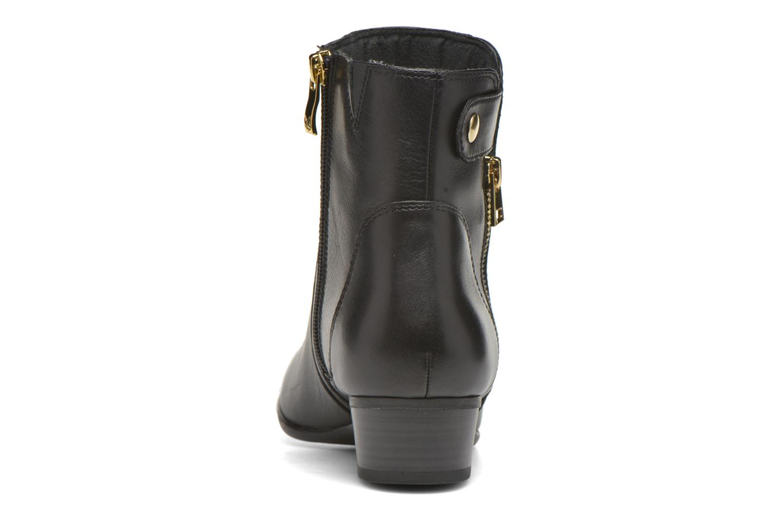Bottines et boots Caprice Dagny Zip Noir vue droite
