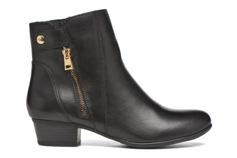 Bottines et boots Caprice Dagny Zip Noir vue derrière