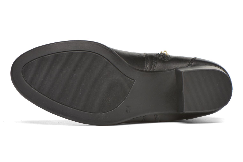 Bottines et boots Caprice Dagny Zip Noir vue haut
