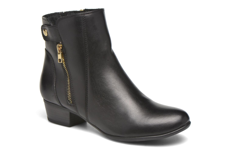 Bottines et boots Caprice Dagny Zip Noir vue détail/paire