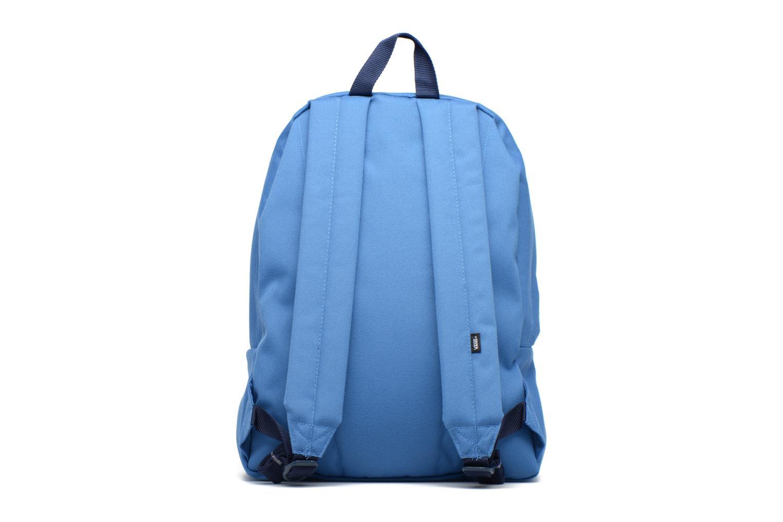 Zaini Vans OLD SCHOOL II Azzurro immagine frontale