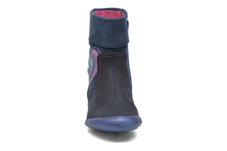 Stiefel Agatha Ruiz de la Prada Clever Boots 1 blau schuhe getragen