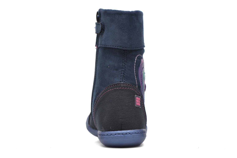 Stiefel Agatha Ruiz de la Prada Clever Boots 1 blau ansicht von rechts
