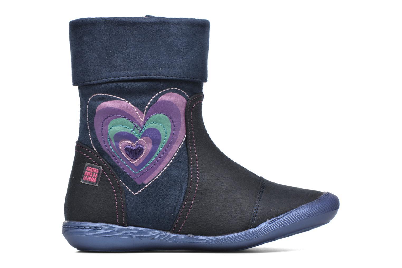 Stiefel Agatha Ruiz de la Prada Clever Boots 1 blau ansicht von hinten