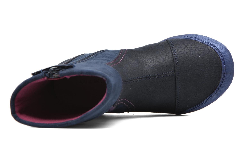 Stiefel Agatha Ruiz de la Prada Clever Boots 1 blau ansicht von links