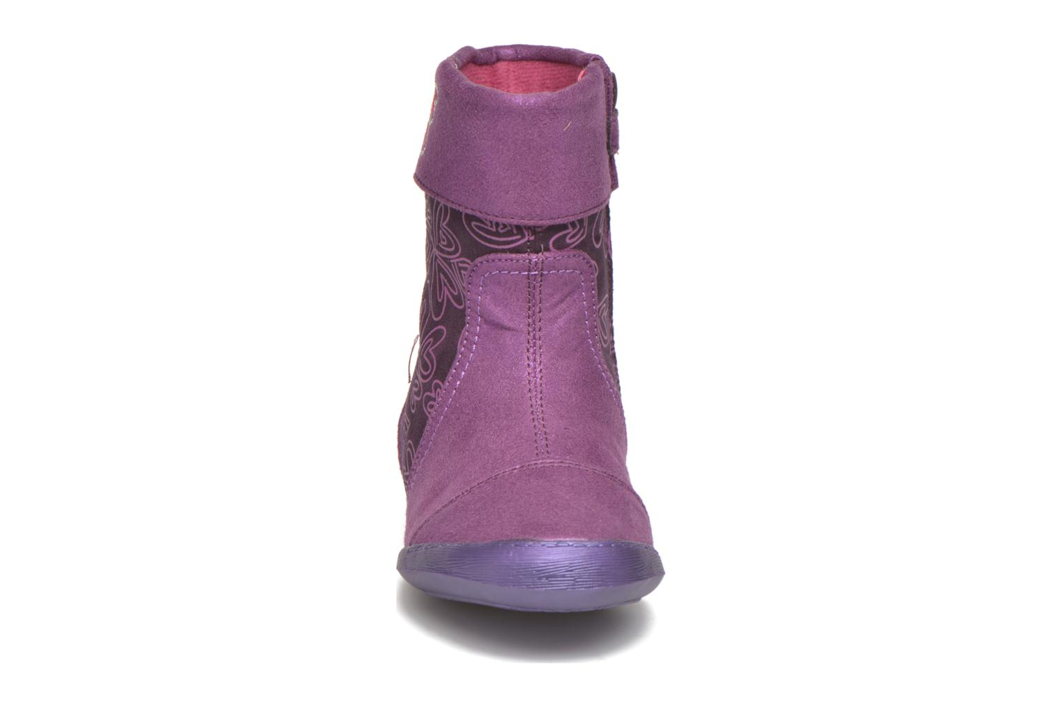 Boots & wellies Agatha Ruiz de la Prada Clever Boots 2 Purple model view