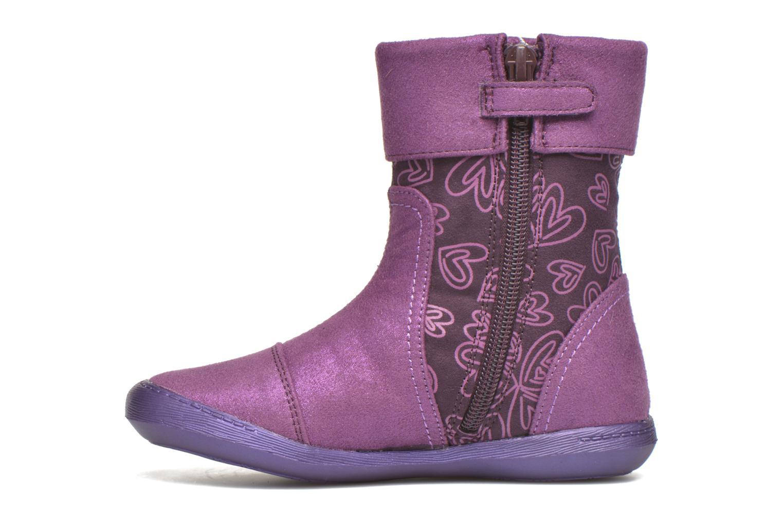 Bottes Agatha Ruiz de la Prada Clever Boots 2 Violet vue face