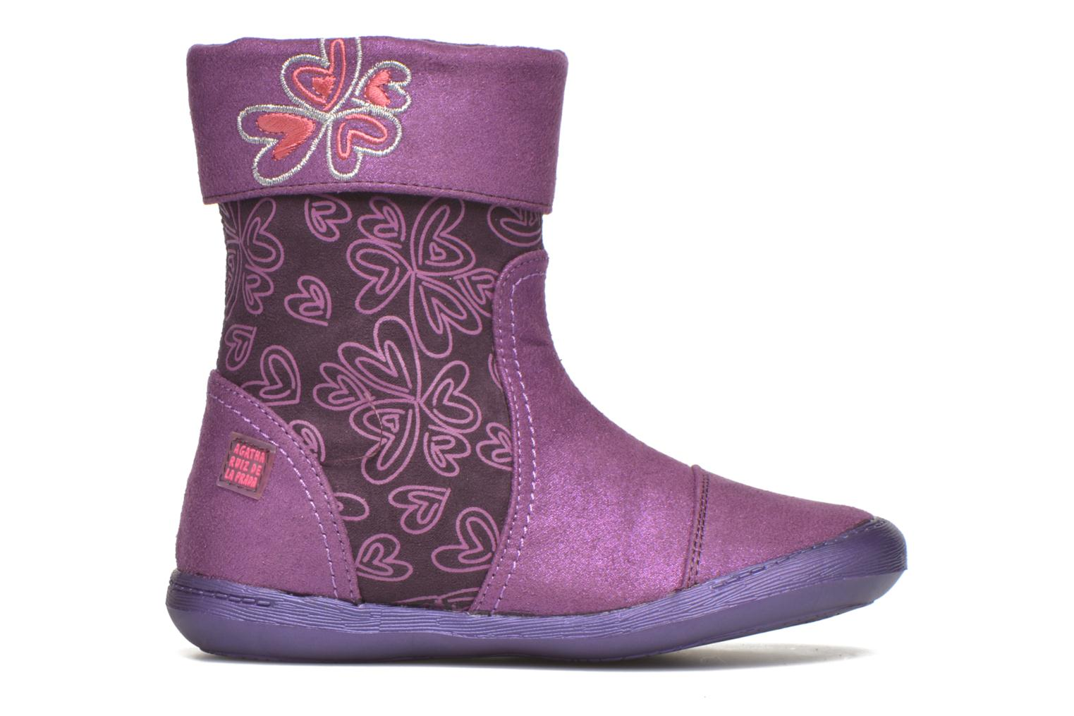 Boots & wellies Agatha Ruiz de la Prada Clever Boots 2 Purple back view