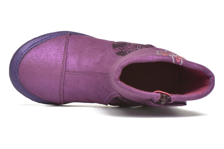 Bottes Agatha Ruiz de la Prada Clever Boots 2 Violet vue gauche