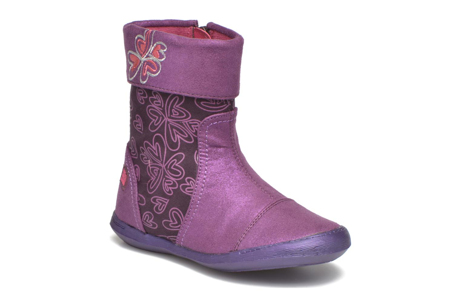 Boots & wellies Agatha Ruiz de la Prada Clever Boots 2 Purple detailed view/ Pair view
