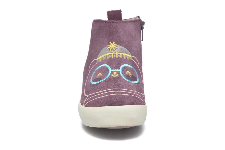 Bottines et boots Gioseppo Bose Violet vue portées chaussures