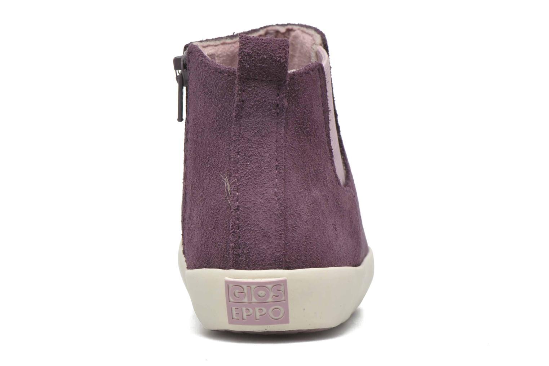 Bottines et boots Gioseppo Bose Violet vue droite