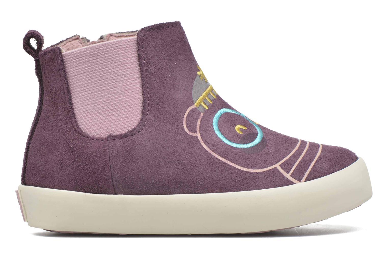 Bottines et boots Gioseppo Bose Violet vue derrière