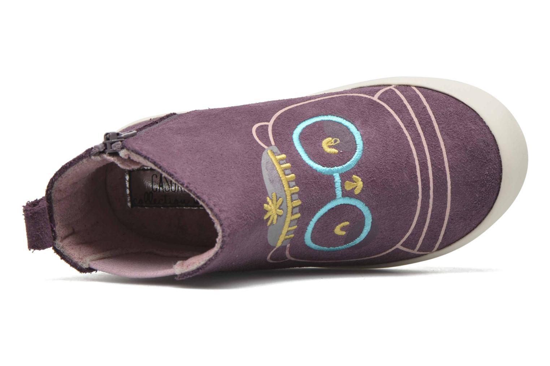 Bottines et boots Gioseppo Bose Violet vue gauche