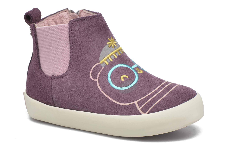 Bottines et boots Gioseppo Bose Violet vue détail/paire