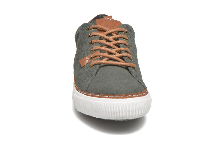 Baskets Gioseppo Harrison Gris vue portées chaussures