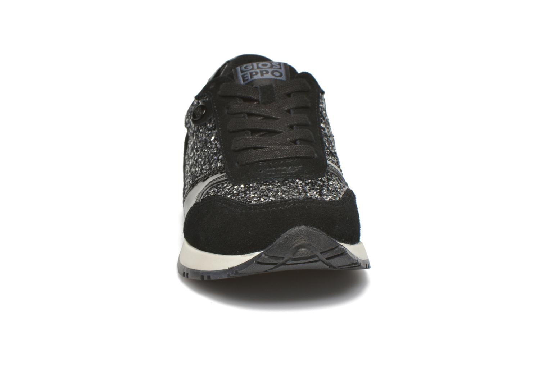 Baskets Gioseppo Noctila Noir vue portées chaussures