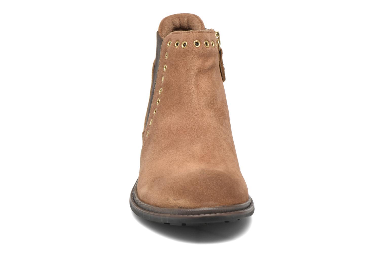 Bottines et boots Gioseppo Seminola Marron vue portées chaussures